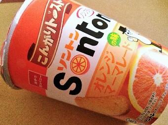 こんがりトースト ソントンマーマレードの味